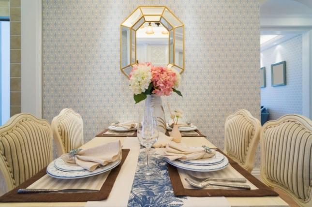 decoração-com-papel-de-parede-sala-de-jantar
